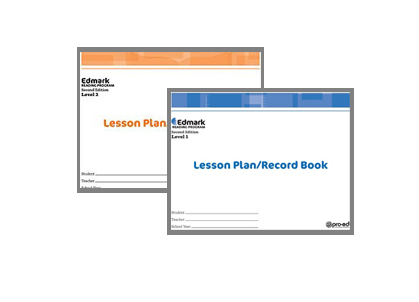 Edmark Reading Program (Print) Lesson Plans