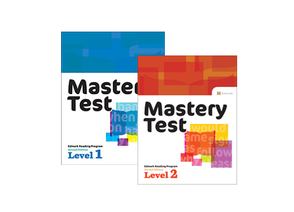 Edmark Reading Program (Print) Mastery Tests