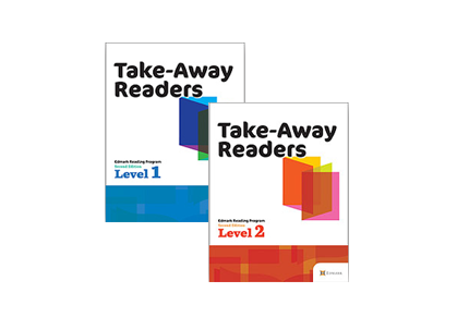 Edmark Reading Program (Print) Take Away Readers