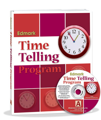 Edmark Reading Program (Print) Telling Time