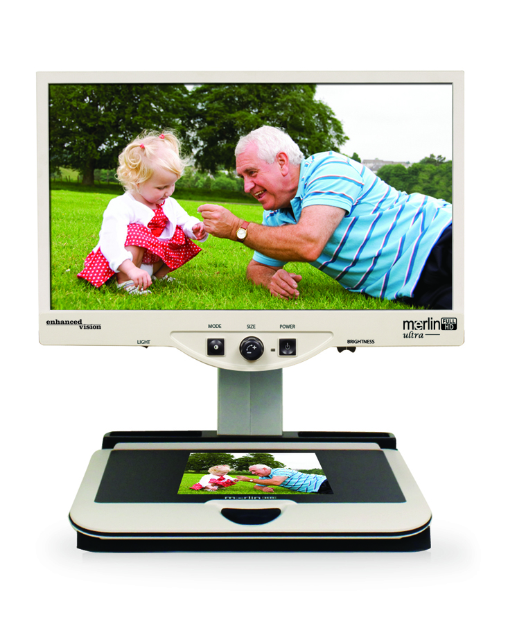 Merlin Ultra HD CCTV Magnifier