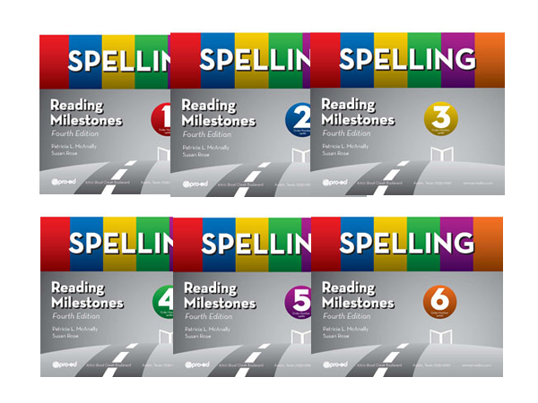 Reading Milestones Spelling Kits