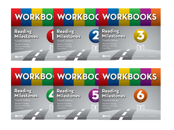 Reading Milestones Workbooks