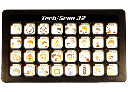 Tech/Scan 2 Level Communication Aids