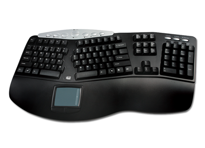 Tru-Form Pro Ergonomic Keyboard w/Touchpad