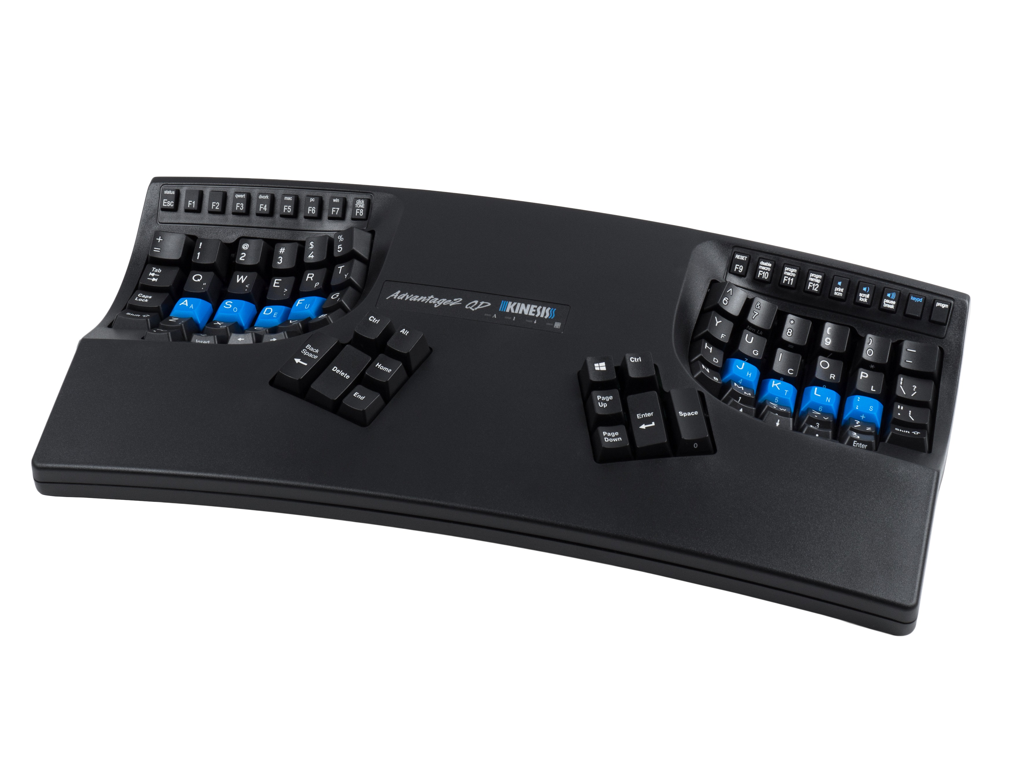 Kinesis Advantage2  QD Dvorak Keyboard