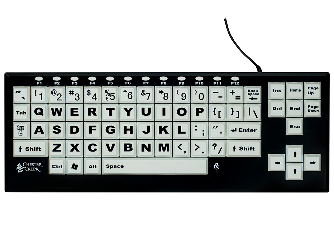 VisionBoard2 Low Vision Keyboard
