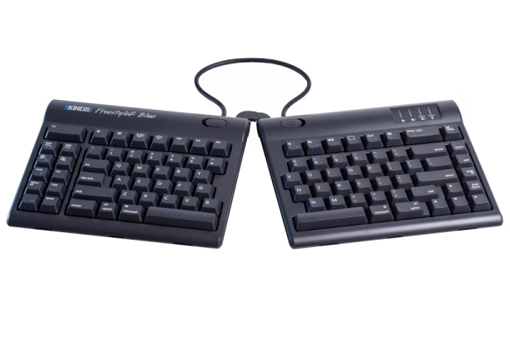 Kinesis Freestyle2 Blue Keyboard