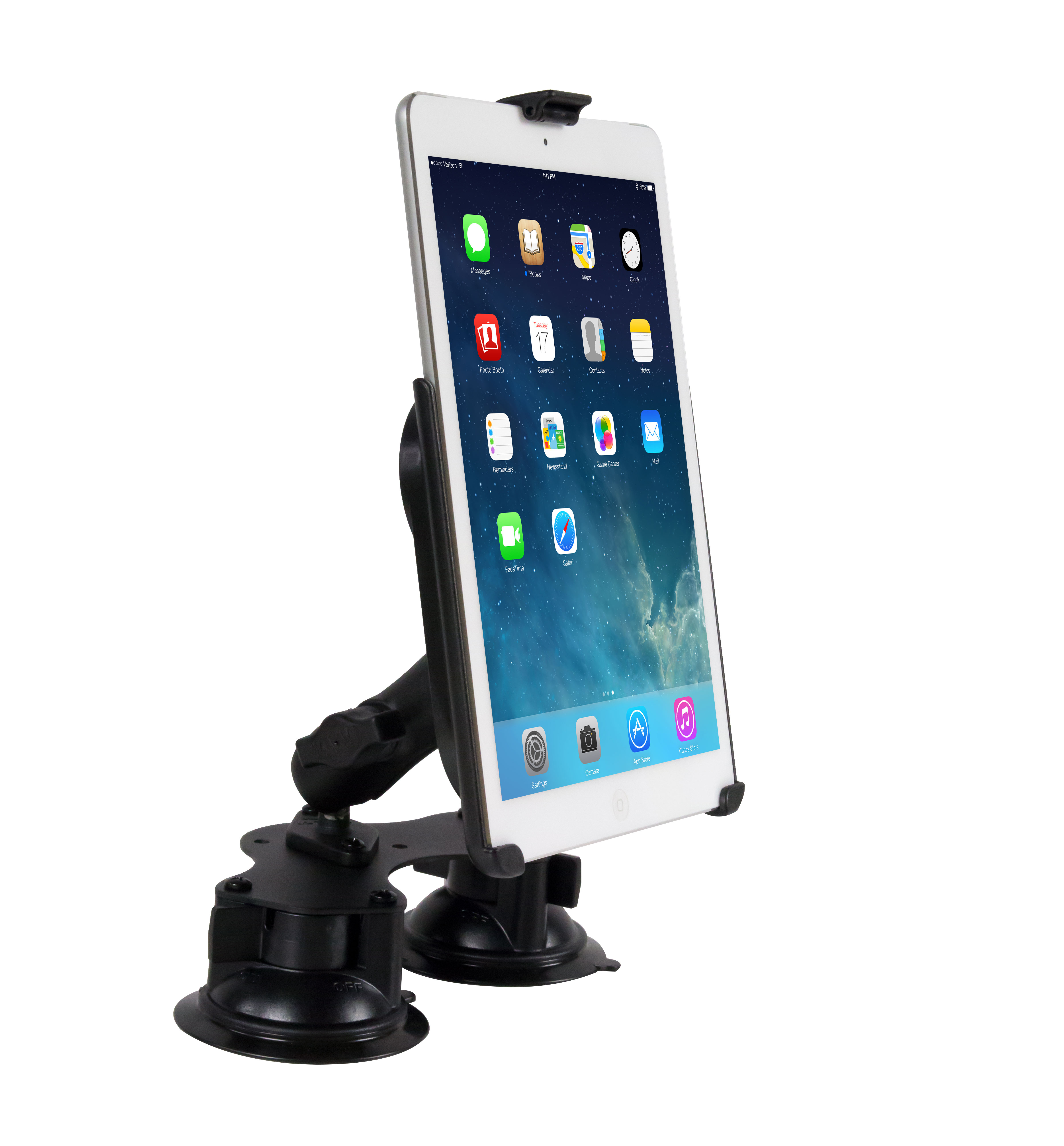 Tabletop Suction Mount for iPad