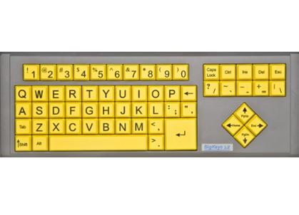 BigKeys LX Large Key Keyboards | BoundlessAT com
