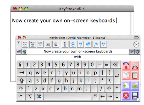 KeyStrokes 4 For Mac